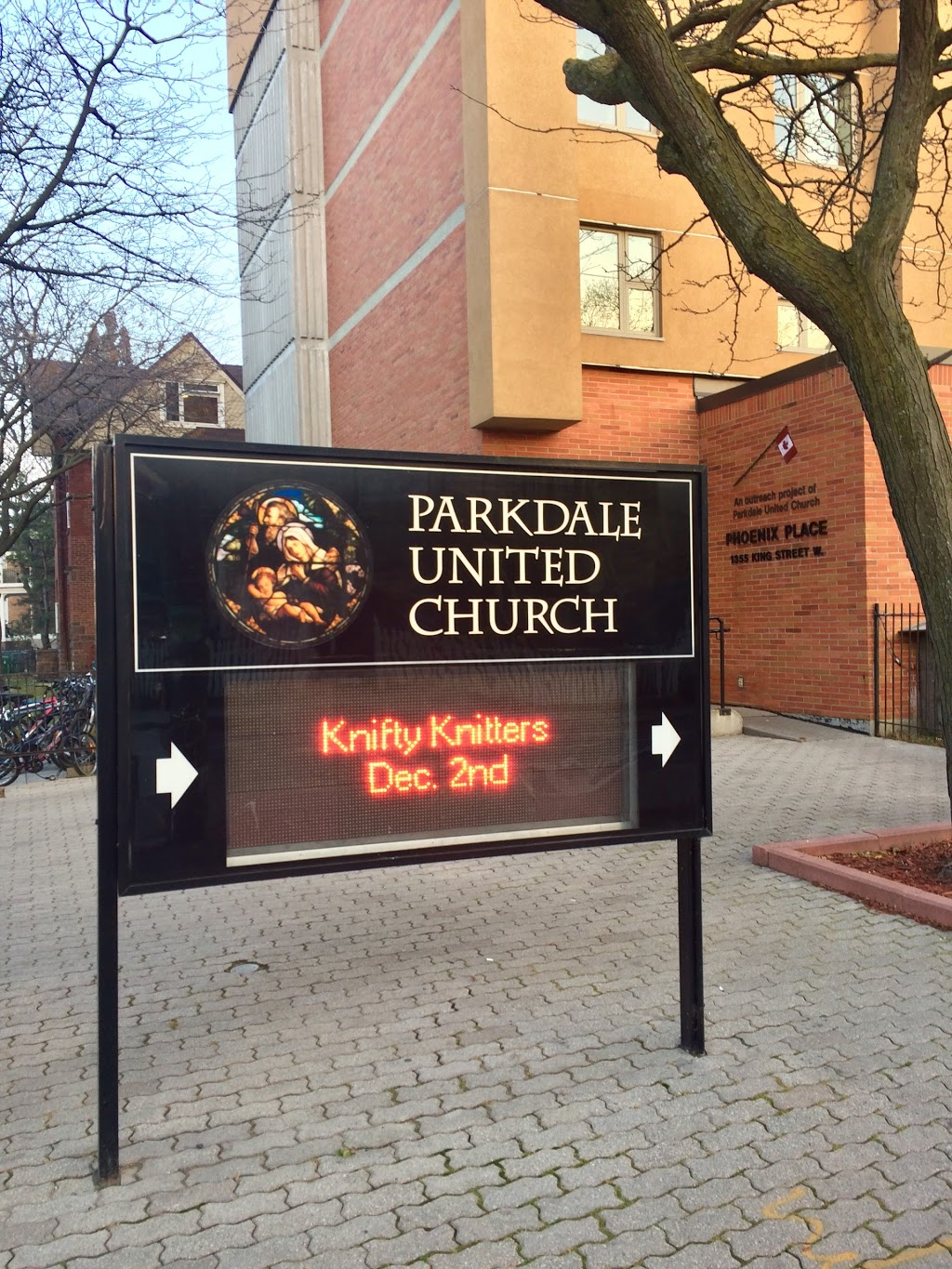 Parkdale United Church & Parkdale United Church Foundation | church | 171 Dunn Ave, Toronto, ON M6K 2R8, Canada | 4165321191 OR +1 416-532-1191