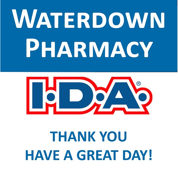 Waterdown IDA Pharmacy   health   115 Hamilton St N #15a, Waterdown, ON L0R 2H0, Canada   9056890999 OR +1 905-689-0999