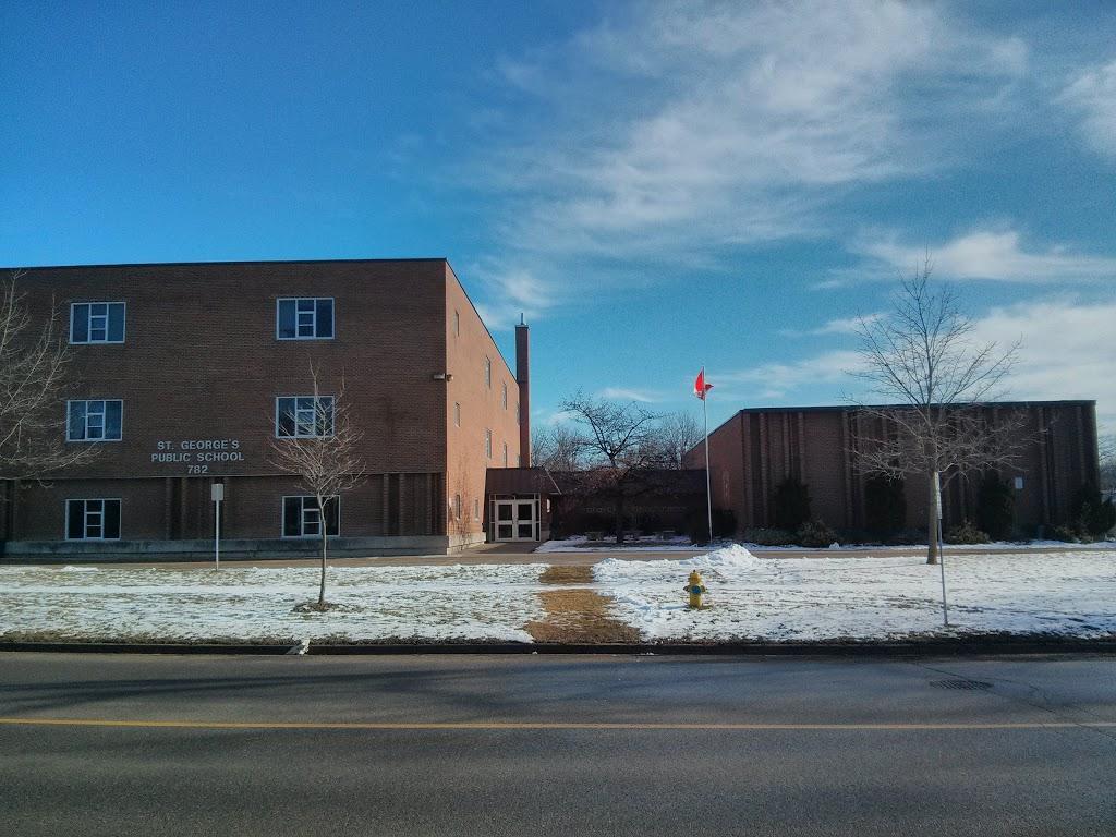 St. Georges Public School | school | 782 Waterloo St, London, ON N6A 3W4, Canada | 5194528530 OR +1 519-452-8530