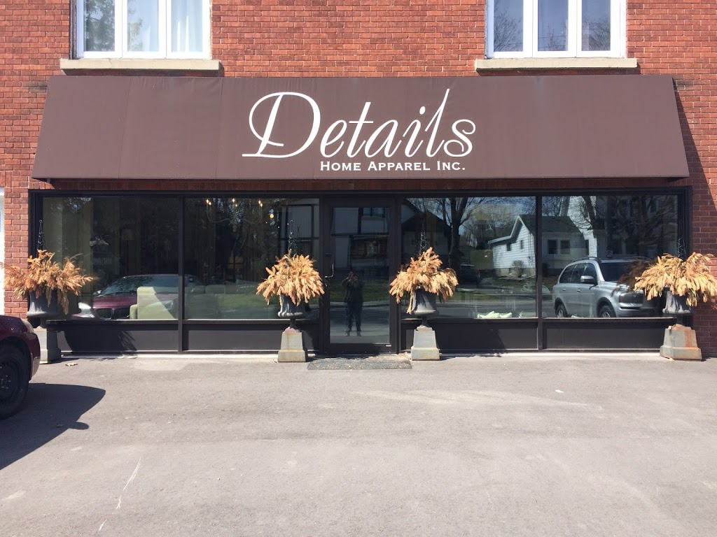 Details Home Apparel Inc | furniture store | 221 Pleasant Park Rd, Ottawa, ON K1H 5M4, Canada | 6137458484 OR +1 613-745-8484