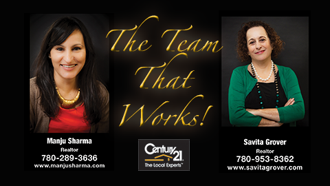 Savita Grover and Manju Sharma - Century 21 Signature Realty
