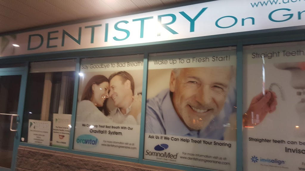 Dentistry on Green Lane | dentist | 8 Green Ln, Thornhill, ON L3T 7P7, Canada | 9058863770 OR +1 905-886-3770