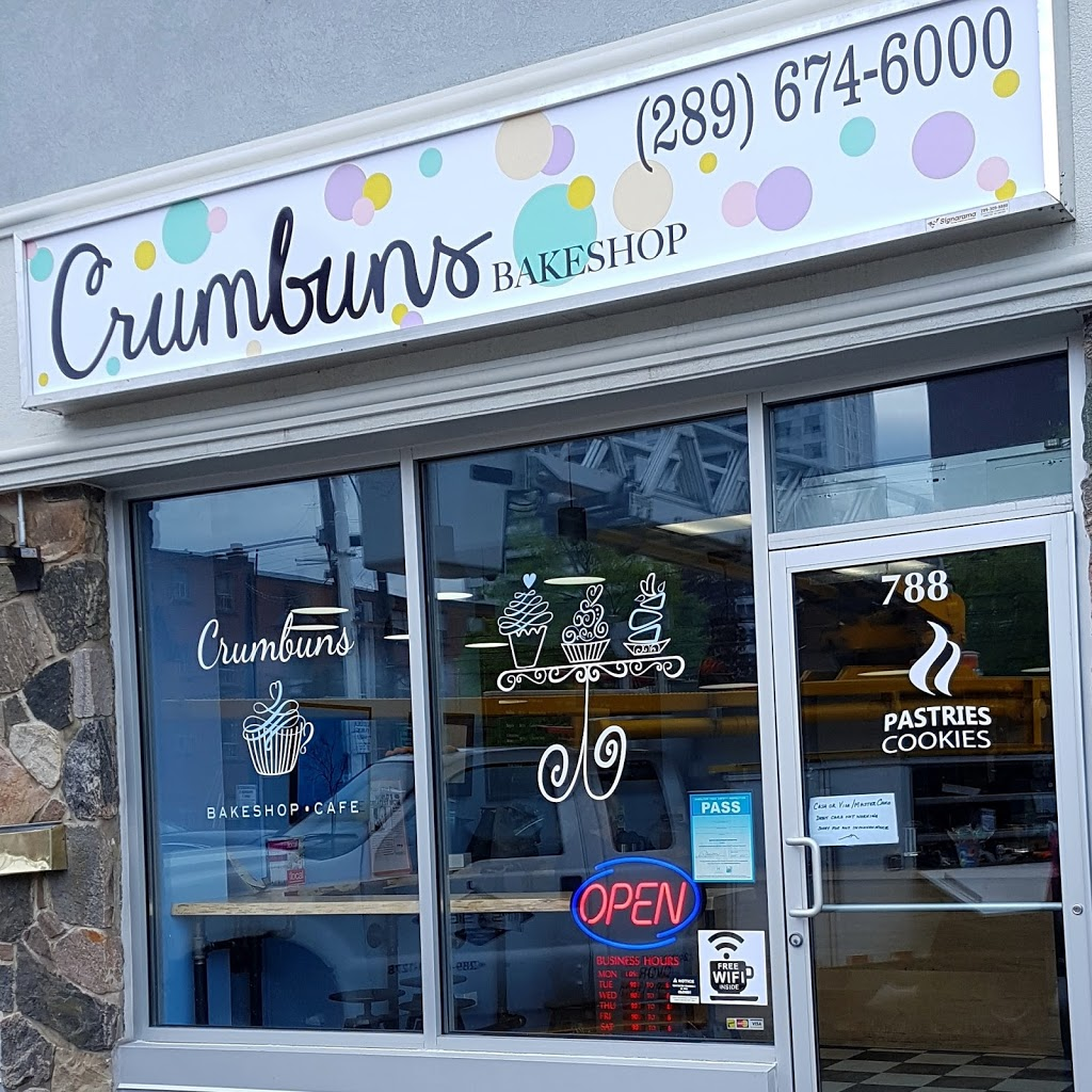 Crumbuns Bakeshop Cafe | bakery | 788 Concession St, Hamilton, ON L8V 1C9, Canada | 2896746000 OR +1 289-674-6000