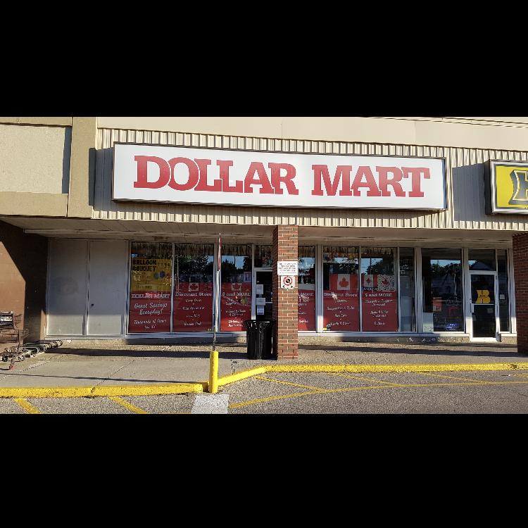 Dollar Mart | store | 274 Highland Rd W, Kitchener, ON N2M 3C5, Canada | 5197446666 OR +1 519-744-6666