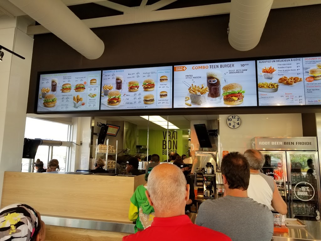 A&W Canada | restaurant | 1190 Boulevard Louis-XIV, Québec, QC G1H 6P2, Canada | 5819812902 OR +1 581-981-2902