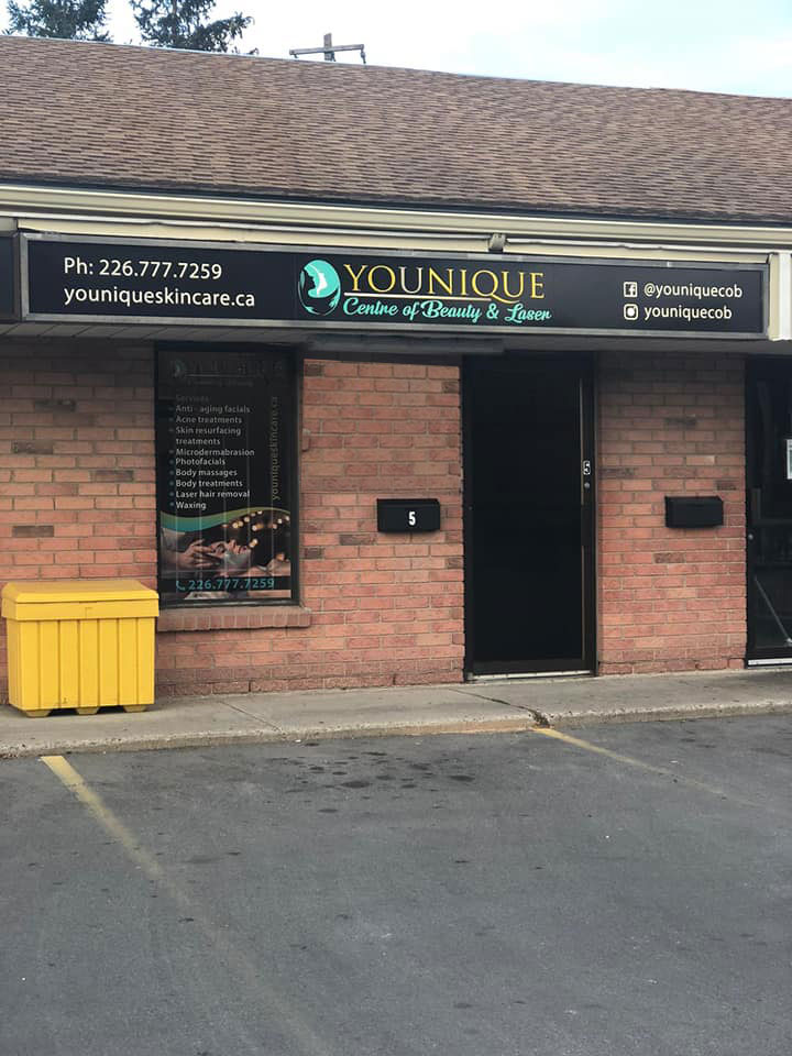 Younique Centre of Beauty | spa | 490 Wonderland Rd S Unit 5, London, ON N6K 3T1, Canada | 2267777259 OR +1 226-777-7259
