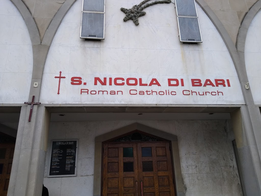 St. Nicholas of Bari Catholic Church | church | 1277 St Clair Ave W, Toronto, ON M6E 1B8, Canada | 4166548908 OR +1 416-654-8908