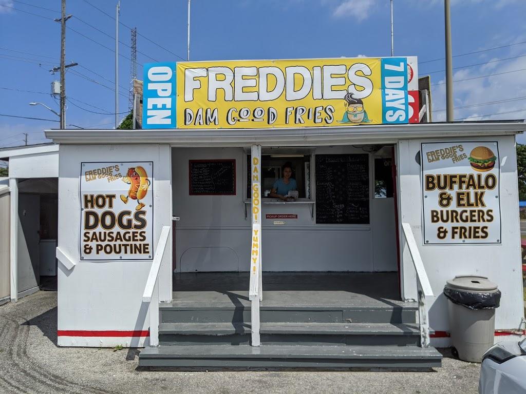 Freddies Dam Good Fries | restaurant | 320 Yonge St #1, Barrie, ON L4N 4C8, Canada | 7057335128 OR +1 705-733-5128
