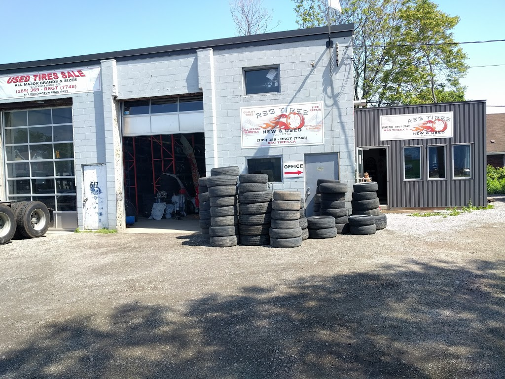 Ready Set Go Wholesale Tires INC (RSG Tires)   car repair   517 Burlington St E, Hamilton, ON L8L 4J1, Canada   2893897748 OR +1 289-389-7748