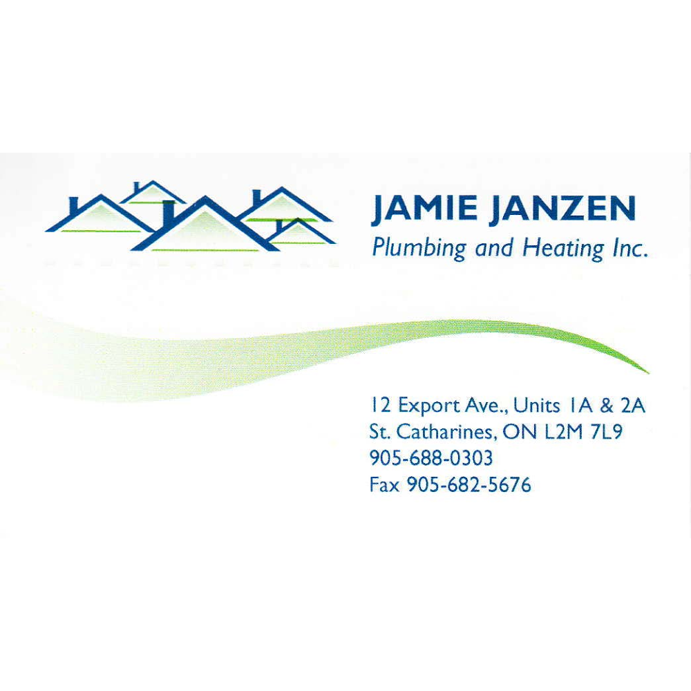 Jamie Janzen Plumbing & Heating Inc | home goods store | 163 Cushman Rd Unit C, St. Catharines, ON L2M 6T4, Canada | 9056880303 OR +1 905-688-0303