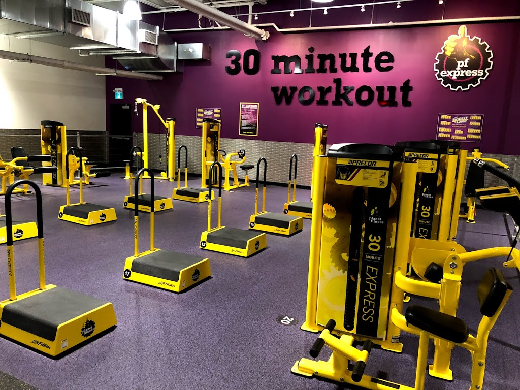 Planet Fitness | gym | 320 Bayfield St, Barrie, ON L4M 3C1, Canada | 7053151740 OR +1 705-315-1740