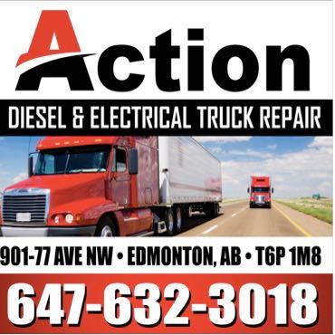 Action diesel and electrical truck repair | car repair | 901 77 Ave NW, Edmonton, AB T6P 1M8, Canada | 6476323018 OR +1 647-632-3018