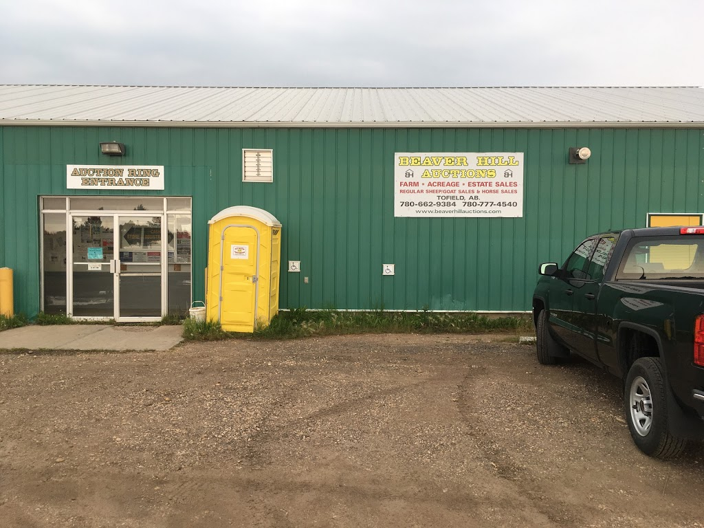 Beaverhill Auction Services, Ltd. | point of interest | 5008 46 Ave, Tofield, AB T0B 4J0, Canada | 7806629384 OR +1 780-662-9384