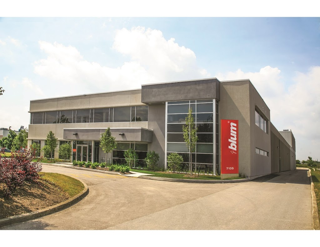 Blum Canada Limited 7135 Pacific Cir Mississauga On L5t 2a8 Canada