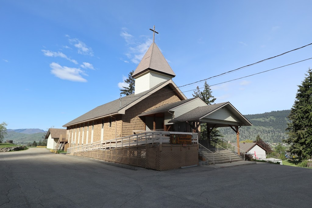 Catholic Church of the Blessed Sacrament | church | 1185 Shuswap Ave, Chase, BC V0E 1M1, Canada | 2506793025 OR +1 250-679-3025
