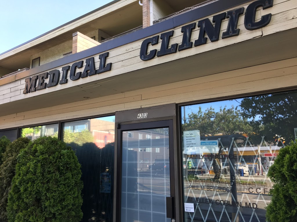 West 10th Medical Clinic | doctor | 4303 W 10th Ave, Vancouver, BC V6R 4K3, Canada | 6042240224 OR +1 604-224-0224