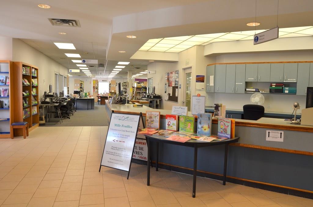 Bibliothèque Ottawa Library - Blackburn Hamlet | library | 199 Glen Park Dr, Ottawa, ON K1B 5B8, Canada | 6135802940 OR +1 613-580-2940