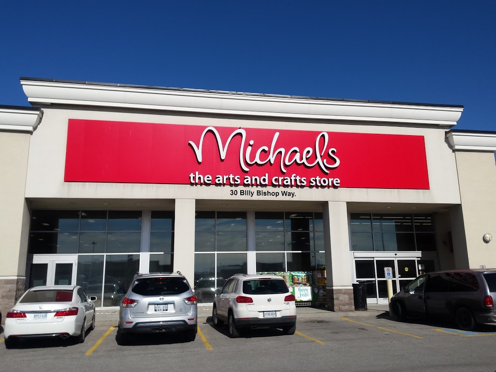 Michaels | store | 30 Billy Bishop Way, North York, ON M3K 2C8, Canada | 6477762180 OR +1 647-776-2180