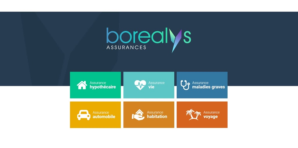 Borealys assurances   insurance agency   1280 Boulevard Lebourgneuf #630, Québec, QC G2K 2G2, Canada   8447879090 OR +1 844-787-9090