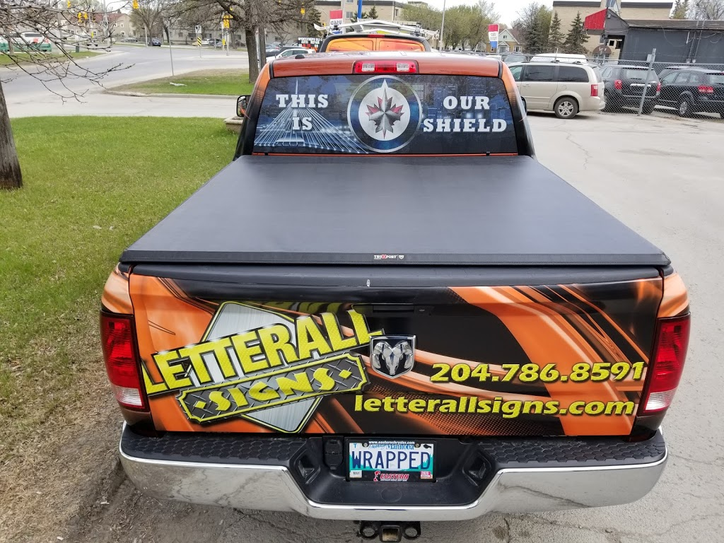 Letterall Signs & Graphics | store | 135 Midland St, Winnipeg, MB R3E 3M9, Canada | 2047868591 OR +1 204-786-8591