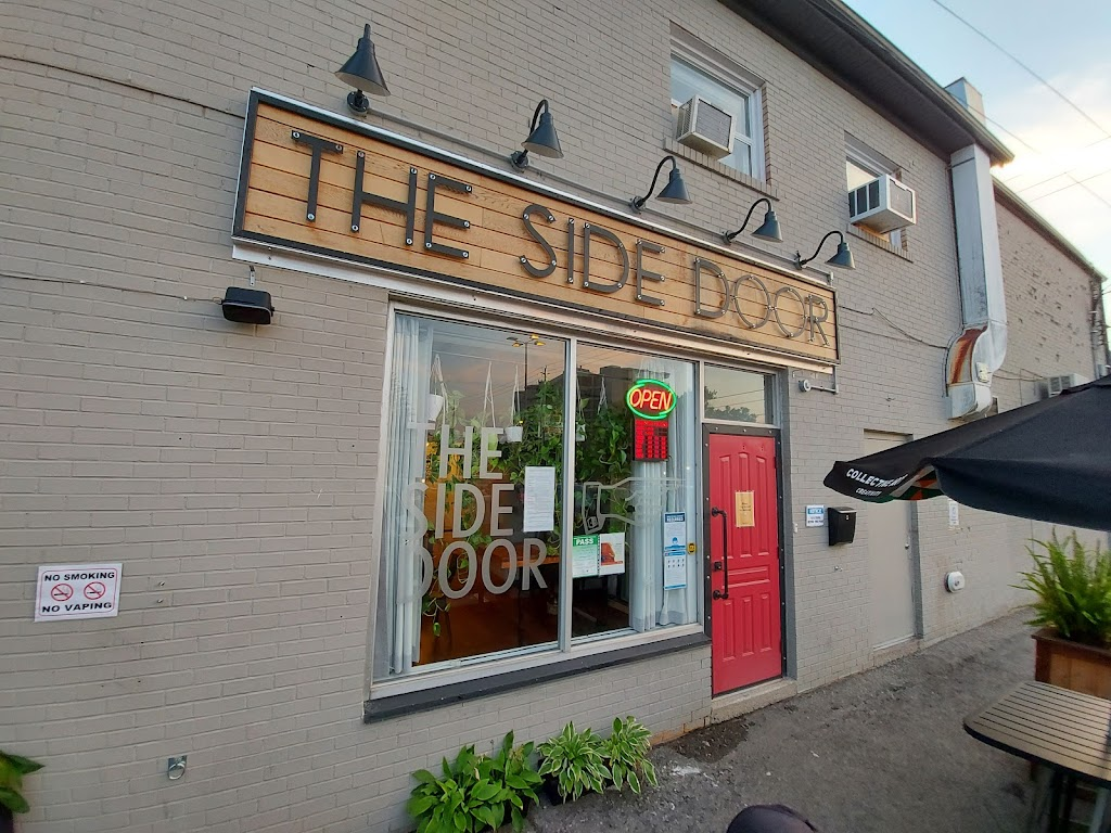The Side Door Bar   meal takeaway   1831 Main St W Unit C, Hamilton, ON L8S 1H6, Canada   9055223490 OR +1 905-522-3490
