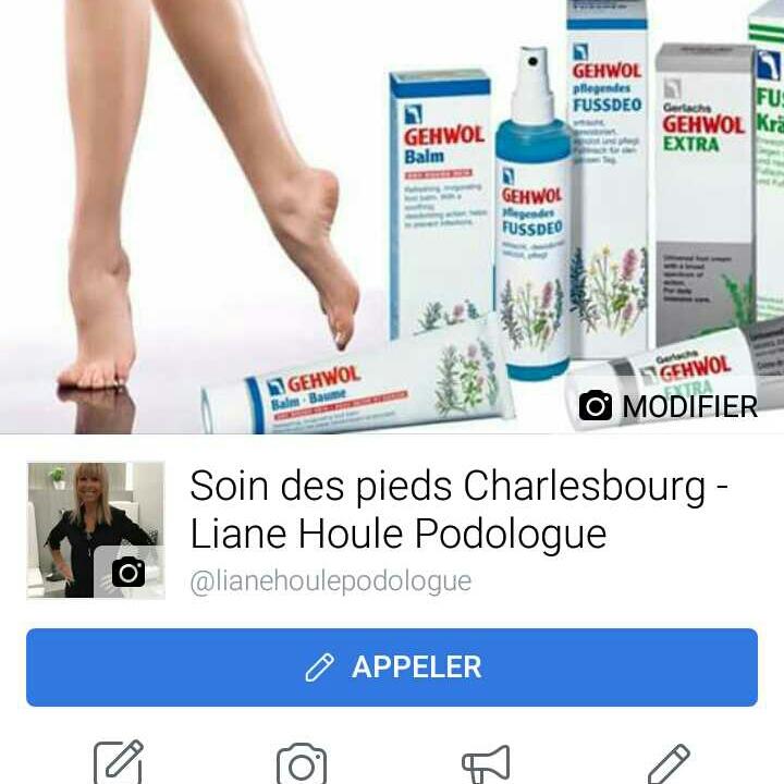 Podologue Charlesbourg - Liane Houle | health | 1264 Boulevard Louis-XIV, Québec, QC G2L 1M2, Canada | 4186239816 OR +1 418-623-9816