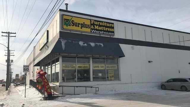 Surplus Furniture and Mattress Warehouse | furniture store | 1200 St James St, Winnipeg, MB R3H 0K7, Canada | 2047723330 OR +1 204-772-3330