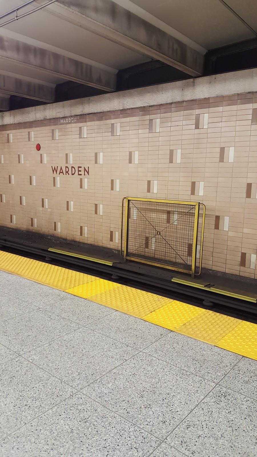Warden Station - Eastbound Platform | subway station | Toronto, ON M1L 3Z5, Canada