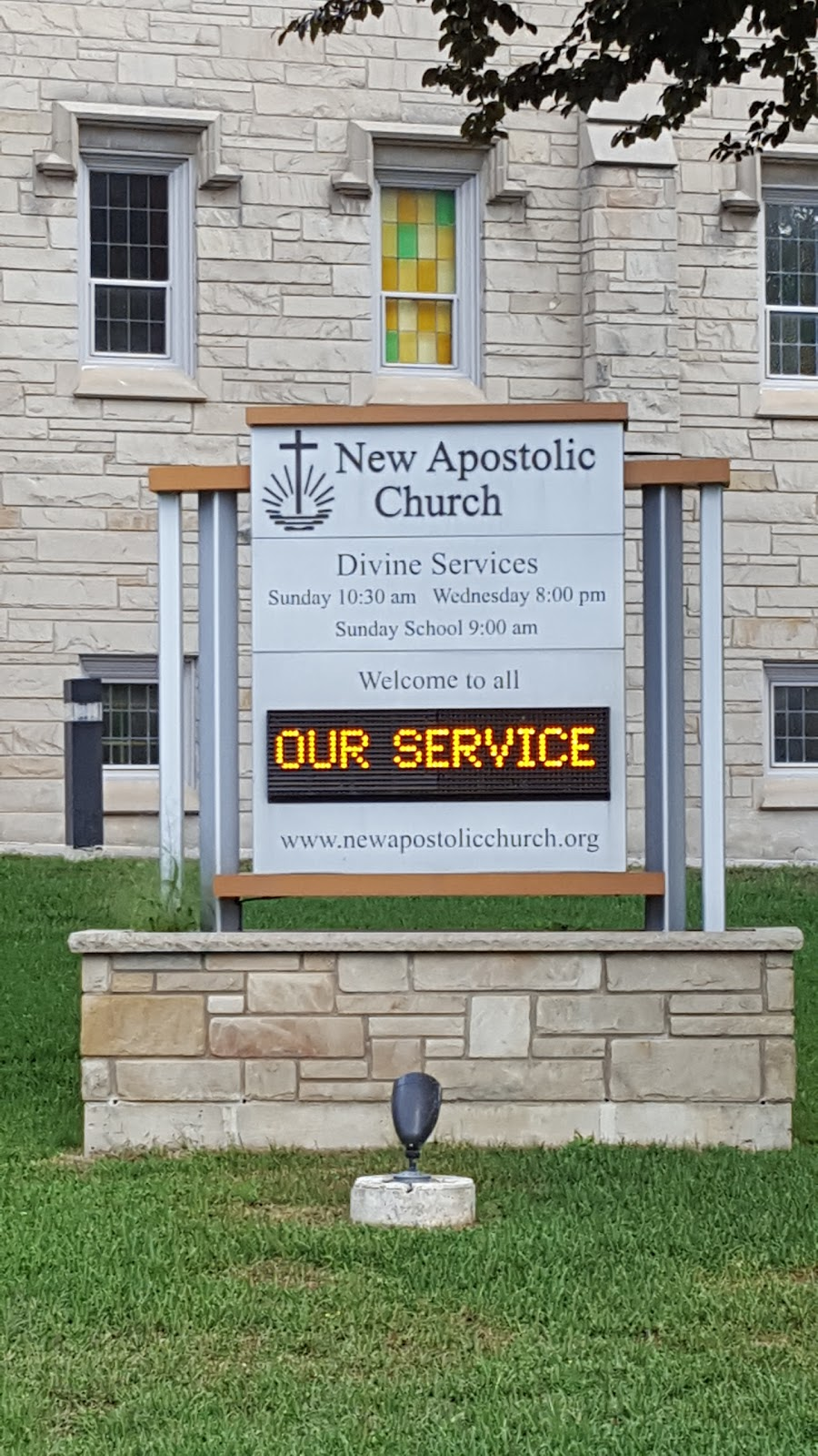New Apostolic Church | church | 160 Margaret Ave, Kitchener, ON N2H 4H8, Canada | 8666227828 OR +1 866-622-7828