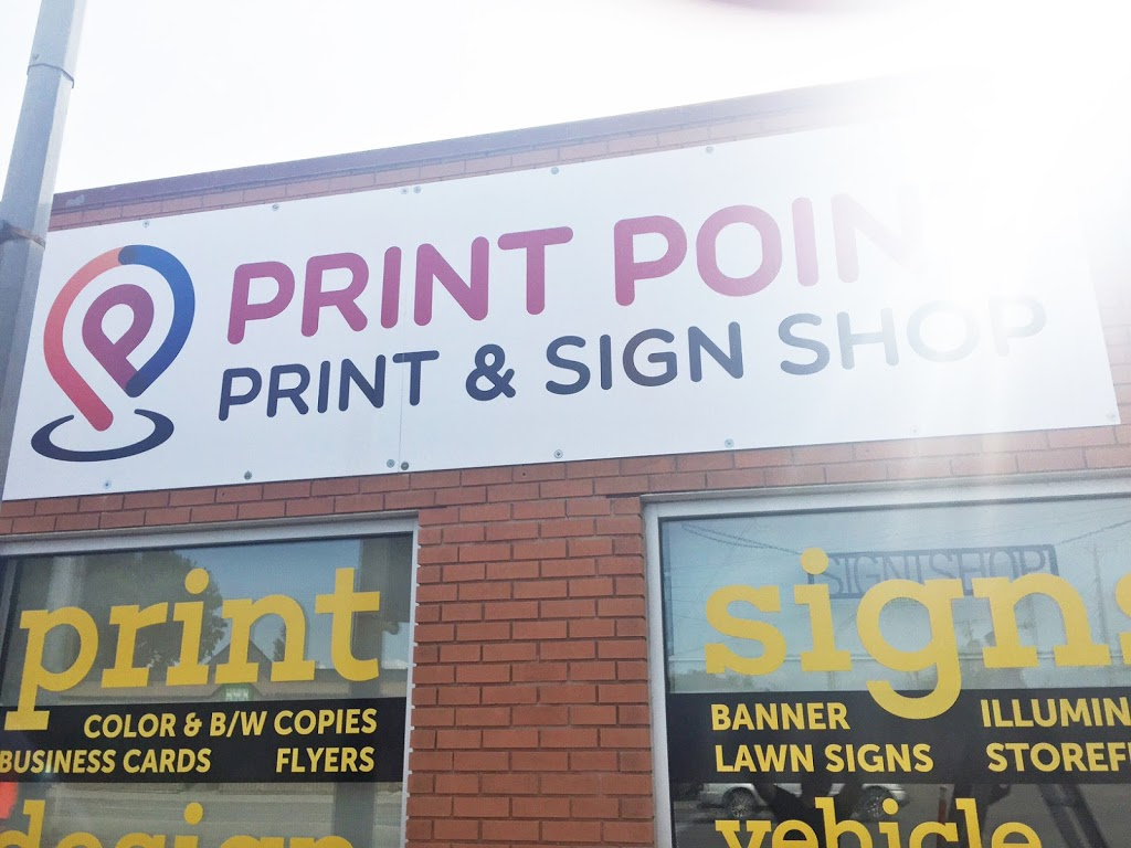 PRINT POINT - PRINTING AND SIGNS | store | 245 McPhillips St, Winnipeg, MB R3E 2K3, Canada | 2045045554 OR +1 204-504-5554