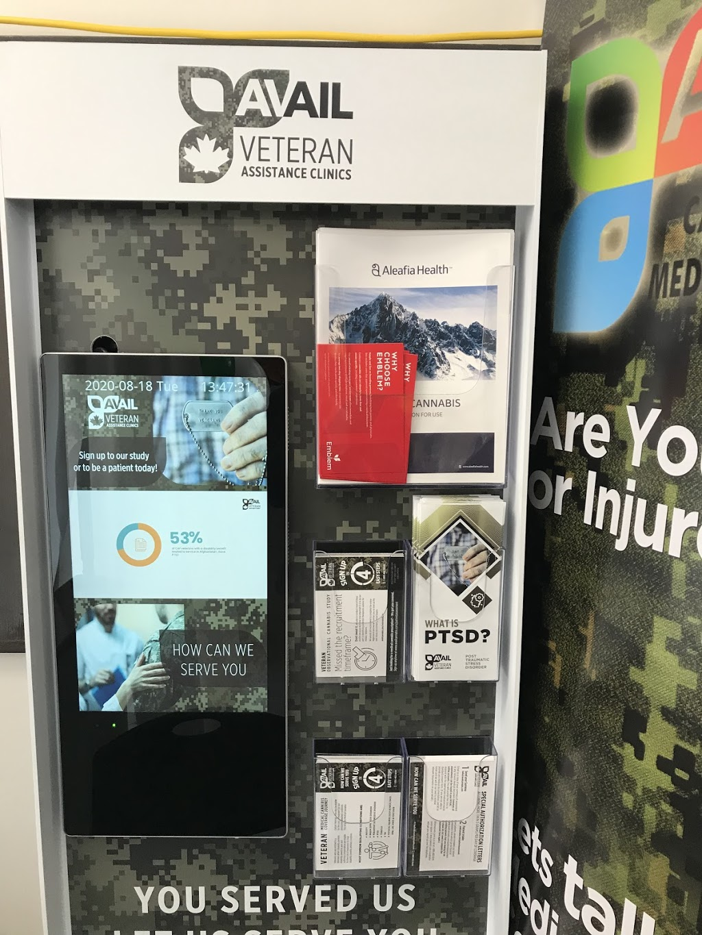 Avail Veteran Assistance Clinic | health | 1256 Mosley St #3, Wasaga Beach, ON L9Z 2E2, Canada | 8884928245 OR +1 888-492-8245