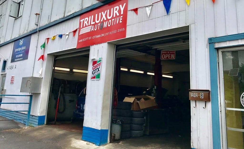 Triluxury Automotive | car repair | 1484-B Scott St, Ottawa, ON K1Y 2N4, Canada | 6137222555 OR +1 613-722-2555