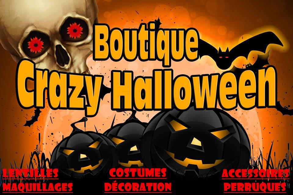 Boutique Crazy Halloween (Gatineau) | clothing store | 720 Montée Paiement, Gatineau, QC J8R 2S8, Canada | 8195254141 OR +1 819-525-4141