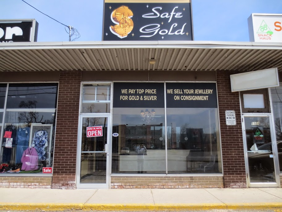 Safe Gold | jewelry store | 1107 Fennell Ave E, Hamilton, ON L8T 1S1, Canada | 9053854653 OR +1 905-385-4653