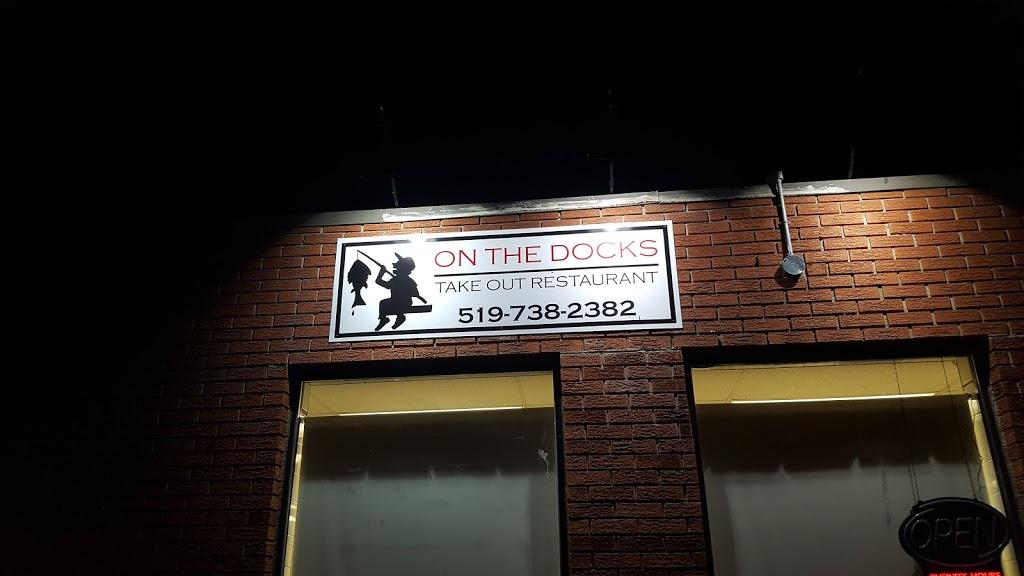 On The Docks Bar & Grill | restaurant | 103 King St W, Harrow, ON N0R 1G0, Canada | 5197382382 OR +1 519-738-2382