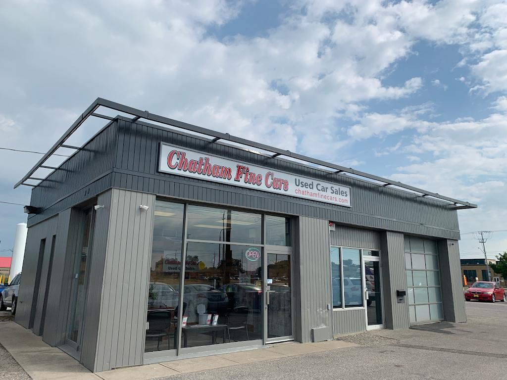 Chatham Fine Cars | car dealer | 620 Richmond St, Chatham, ON N7M 1R4, Canada | 5193542544 OR +1 519-354-2544