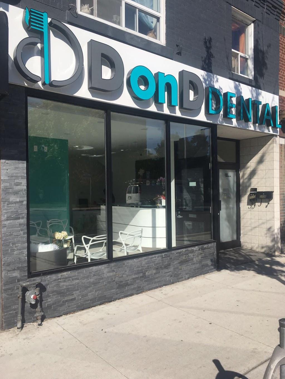 D on D Dental | dentist | 2330 Danforth Ave, Toronto, ON M4C 1K7, Canada | 4164213724 OR +1 416-421-3724