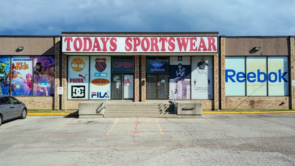 Todays Sportswear | clothing store | 790 Dundas St E, Mississauga, ON L4Y 2B6, Canada | 9058489888 OR +1 905-848-9888