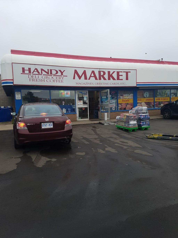 Handy Market | convenience store | 963 Burlington St E, Hamilton, ON L8L 4K6, Canada | 9055491610 OR +1 905-549-1610