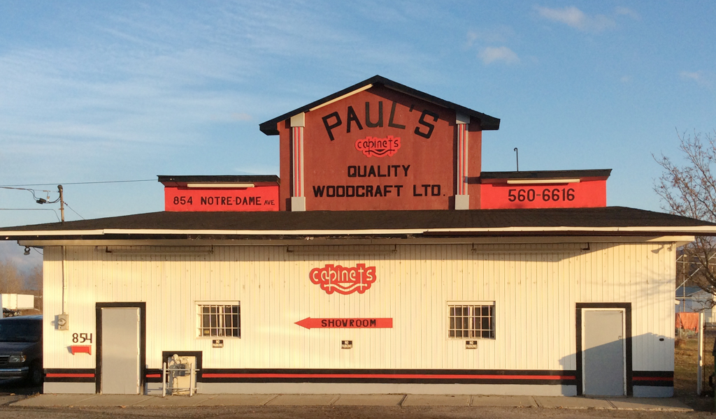 Pauls Quality Woodcraft Ltd | home goods store | 854 Notre Dame Ave, Sudbury, ON P3A 2T4, Canada | 7055606616 OR +1 705-560-6616