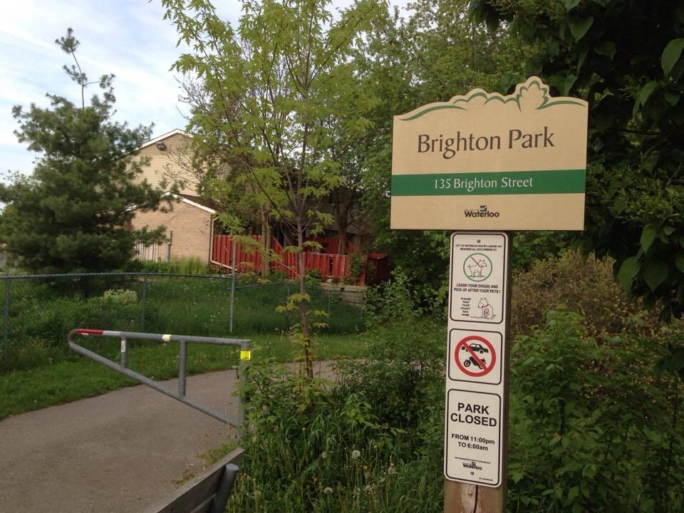 Brighton Park | park | 4Z5, 139 Brighton St, Waterloo, ON N2J 2R6, Canada