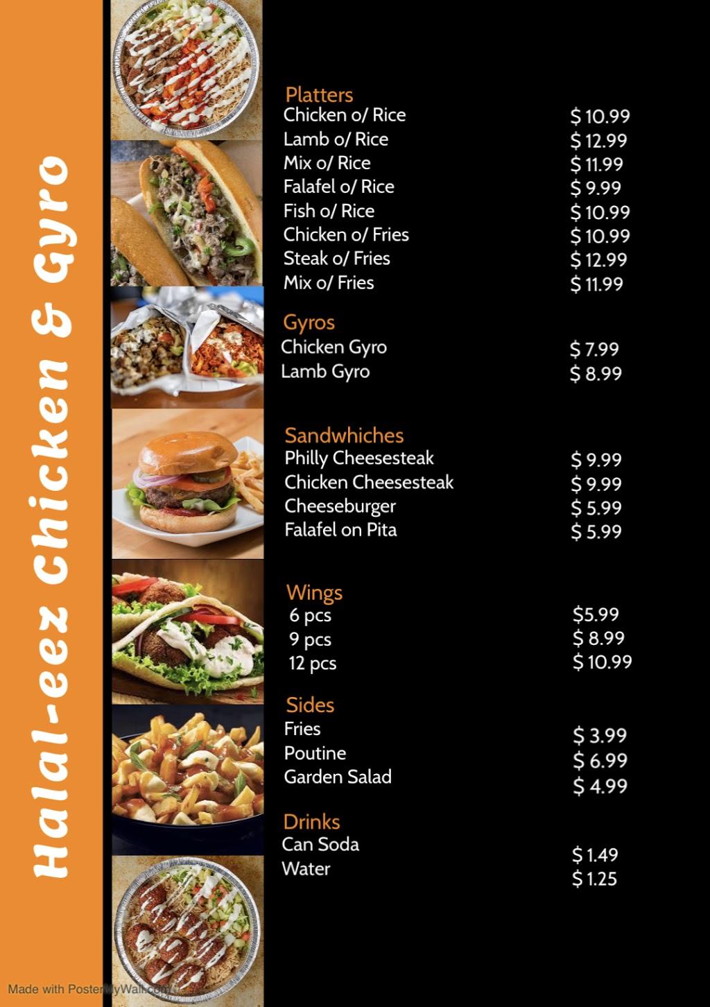 Halaleez Chicken & Gyro | restaurant | 266 Symington Ave, Oshawa, ON L1H 7K4, Canada | 6477038900 OR +1 647-703-8900