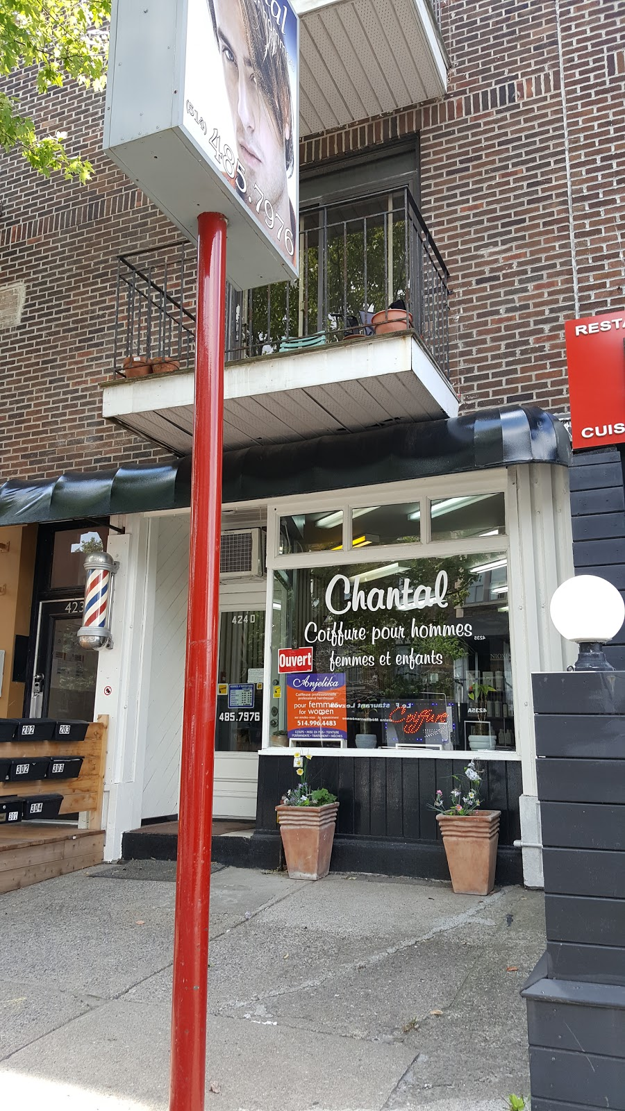 Chantal Coiffure Pour Hommes 4240 Boulevard Decarie Montreal Qc H4g 3k3 Canada