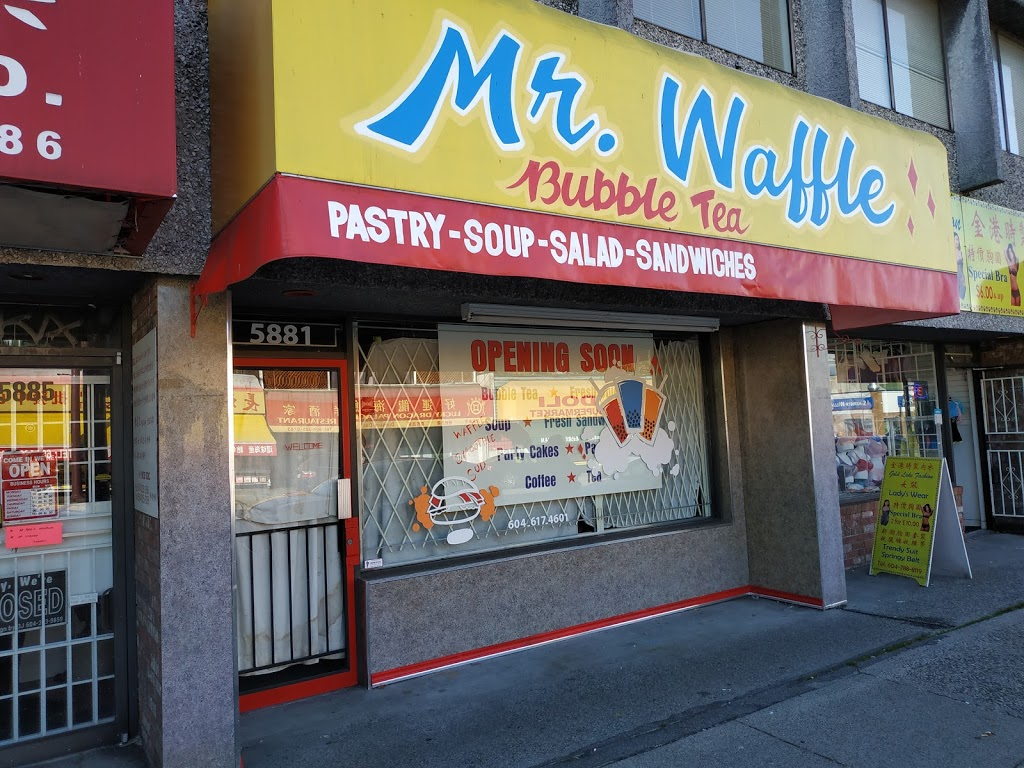 Mr. Waffle Bubble Tea | cafe | 5881 Victoria Dr, Vancouver, BC V5P 3W5, Canada | 6046871400 OR +1 604-687-1400