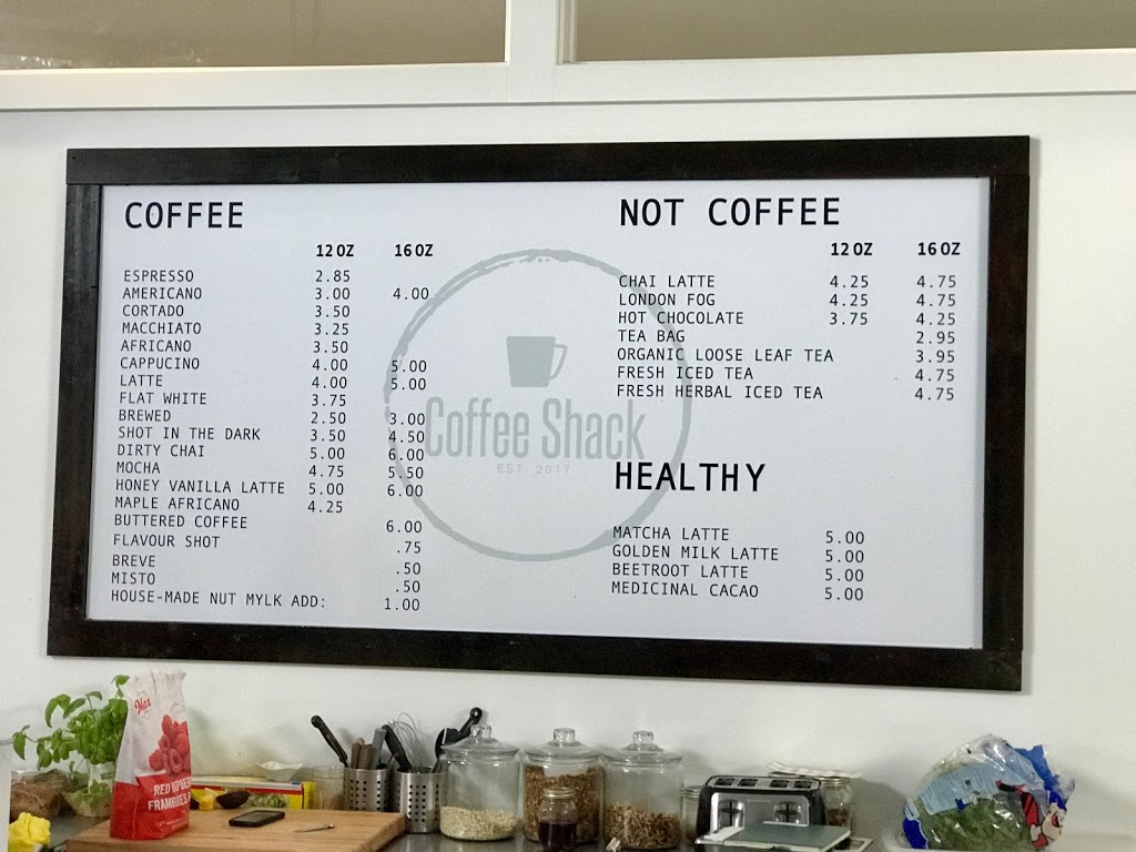 Coffee Shack | cafe | 10862 Chemainus Rd, Ladysmith, BC V9G 2A4, Canada | 7784223300 OR +1 778-422-3300