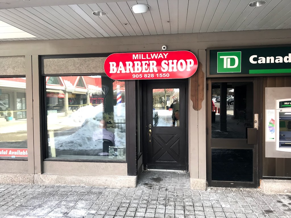 Millway Barbershop | hair care | 3200 Erin Mills Pkwy, Mississauga, ON L5L 1W8, Canada | 9058281550 OR +1 905-828-1550