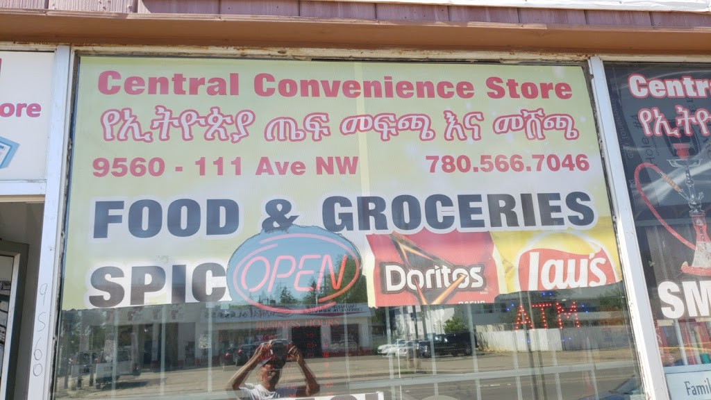 Centeral Ethiopian Convenience Store | shopping mall | 9560 111 Ave NW, Edmonton, AB T5G 0A7, Canada | 7809384217 OR +1 780-938-4217