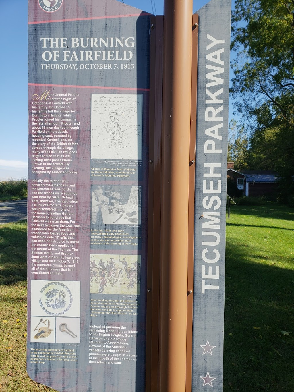 Fairfield Museum | museum | 14878 Longwoods Rd, Bothwell, ON N0P 1C0, Canada | 5196924397 OR +1 519-692-4397