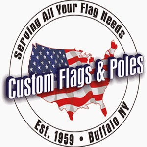Custom Flags & Poles Inc | home goods store | 1278 French Rd, Depew, NY 14043, USA | 7166686939 OR +1 716-668-6939