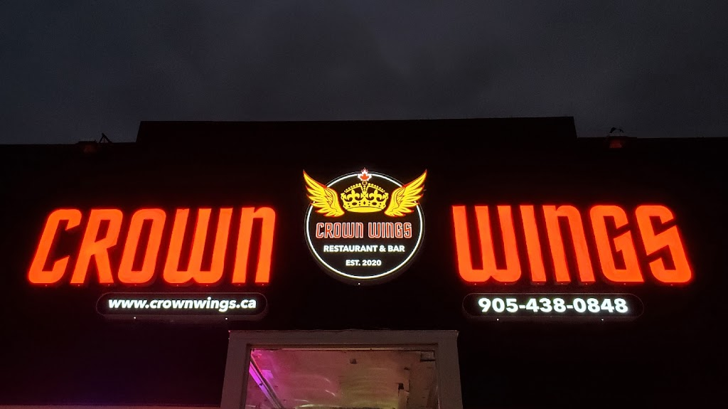 Crown Wings   restaurant   283 Dean Ave, Oshawa, ON L1H 3E1, Canada   9054380848 OR +1 905-438-0848